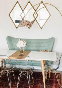 Brass inspiration - dining room