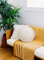 Mustard inspiration - living room