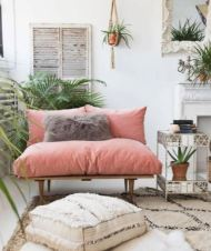 Dusty pink inspiration - living room