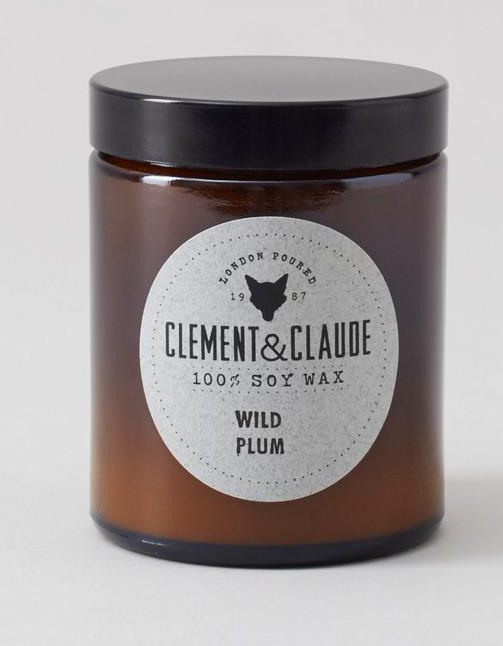 Clement and Claude candle