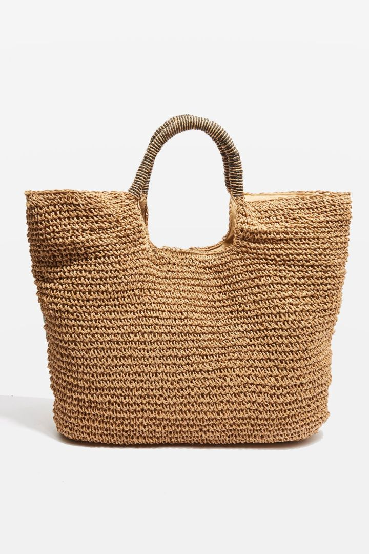 Topshop straw tote