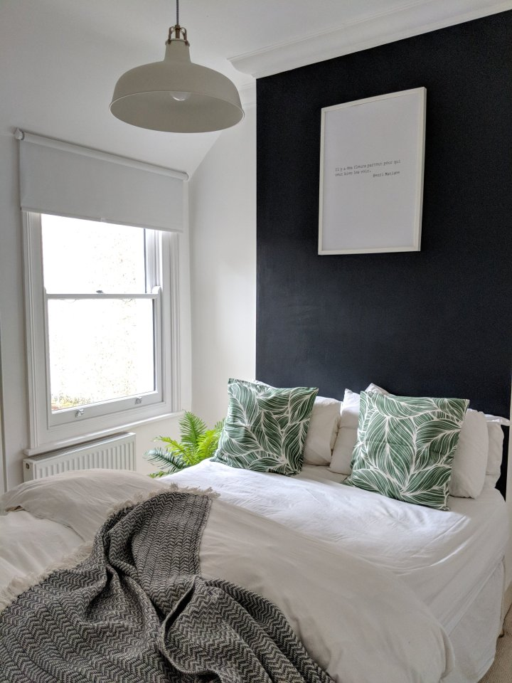 Thrifted Abode blog - spring update new bedding
