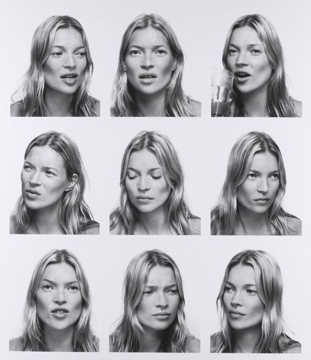 Kate Moss National Portrait Gallery