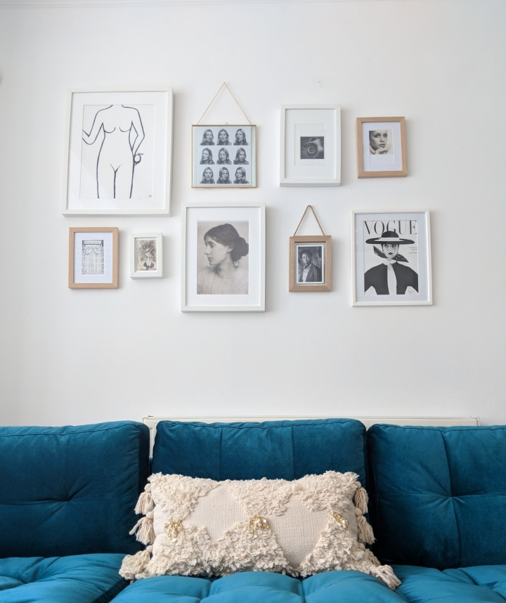 5 simple steps to the perfect gallerywall