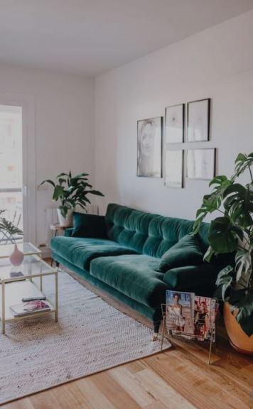 velvet sofa - ta