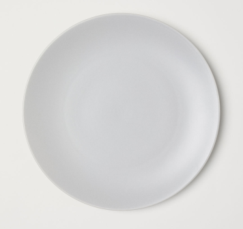 Thrifted Abode crockery plate hm