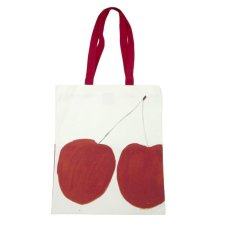 RA shop - cherries tote bag - Thrifted Abode