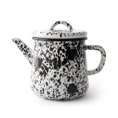 V&A Shop - splatter teapot - Thrifted Abode