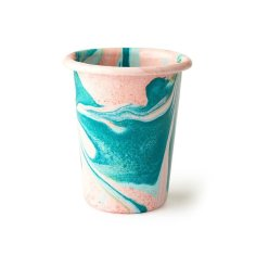 V&A shop pink tumbler - Thrifted Abode