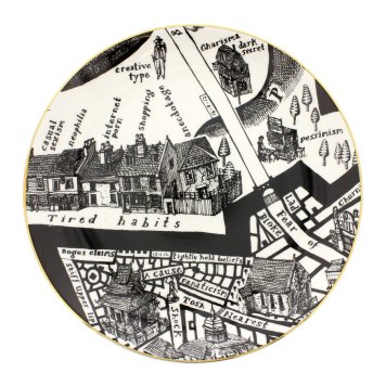 national portrait gallery - grayson perry 'a map of days' plate 'tired habits'4560874055547867400..jpg