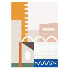 Barbican shop print - Thrifted Abode