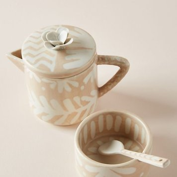 Thrifted abode - anthropologie - creamer set