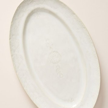 Thrifted Abode - anthropologie - platter