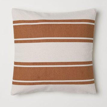 Thrifted Abode - h&m stripe cushion