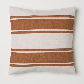 Thrifted Abode - h&m stripe cushion
