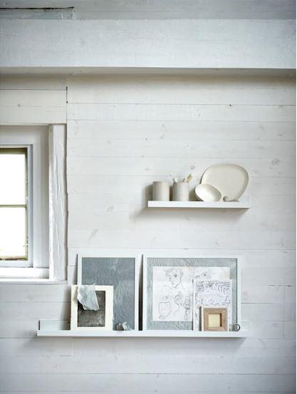 Ikea Mosslanda picture rail