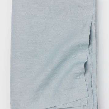 H&M home, washed linen tablecloth