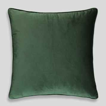 Large Matte velvet cushion, Matalan