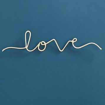 Love sign Anthropologie