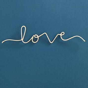Love sign Anthropologie