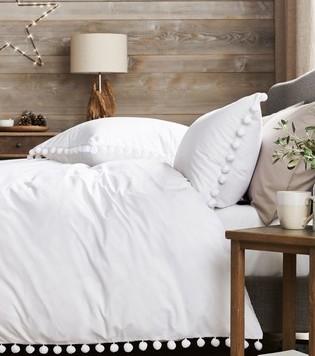 Next pom pom duvet cover and pillowcase set