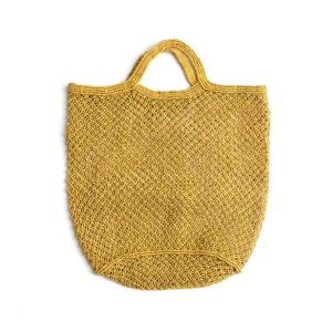 Ochre jute market bag, The Future Kept
