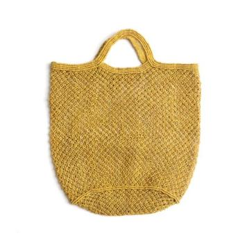 Ochre jute market bag, The Future Kept