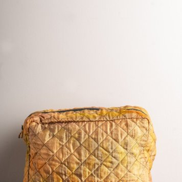 Recycled sari wah bag, Ian Snow